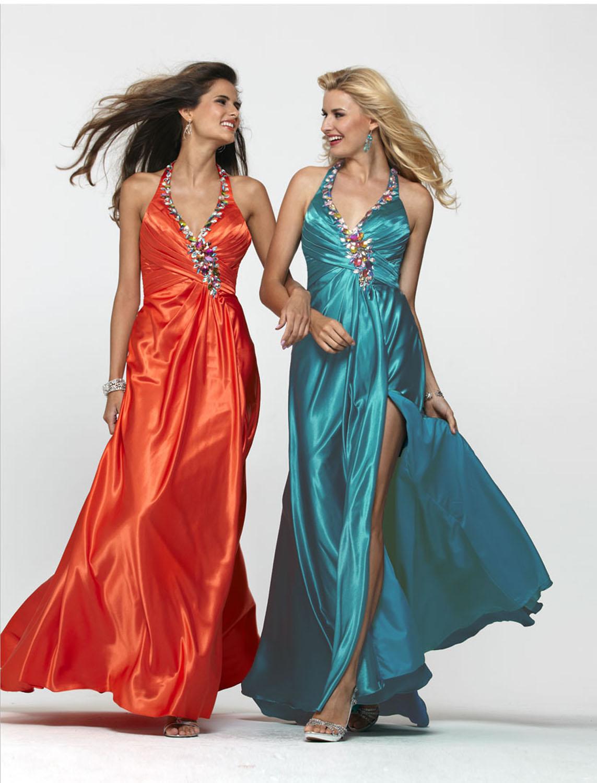 Clarisse Formal Dress C2154 Halter Party  Dress at Sears.com